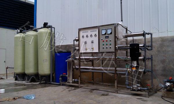 2吨/h反渗透水处理